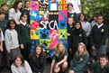 Animal welfare quilt - by Lynfield College students
