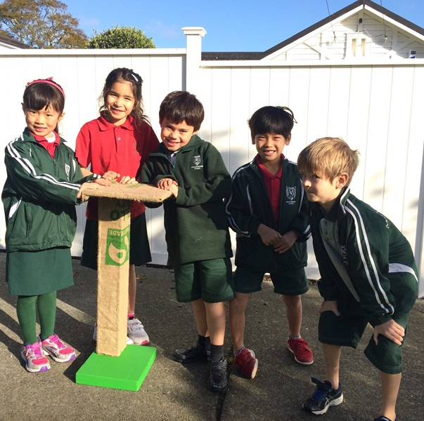 Students at Meadowbank School made and donated up-cycled cat scratching posts!